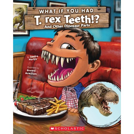 What If You Had T. Rex Teeth? and Other Dinosaur Parts - How Tall Is The T Rex