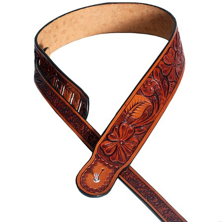 Leather Guitar Bass Strap 3.25