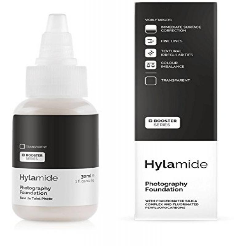 Hylamide Photography Foundation Transparent, 1 Ounce by Hylamide
