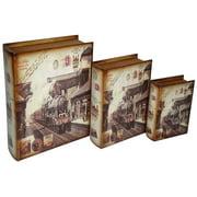 3-Pc Train Book Box