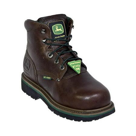 Men's John Deere Boots Safety Toe Lace-Up Flexible Internal Met Guard