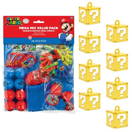 Super Mario Bros Filled Favor Boxes (8)