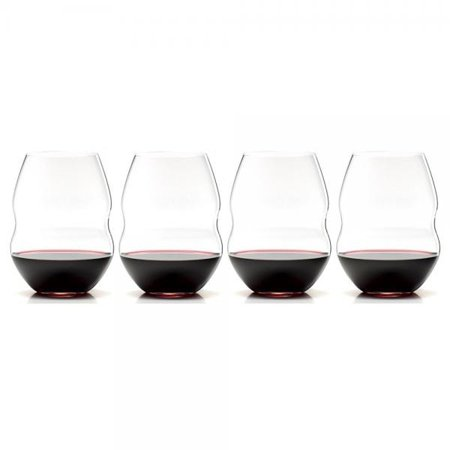Riedel Swirl Stemless Red Wine Glass, Set of 4