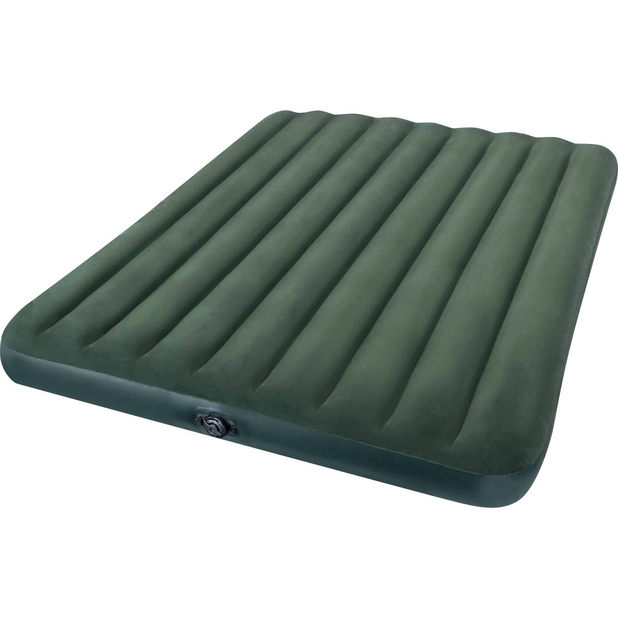 "Intex Queen 8.75"" Prestige Downy Airbed Mattress with Hand-Held Battery Pump"