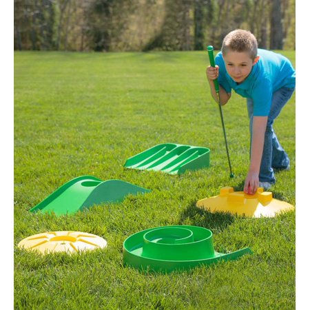 Design-your-own Mini Golf Course Kit with Storage Bag - Golf Bag Kit