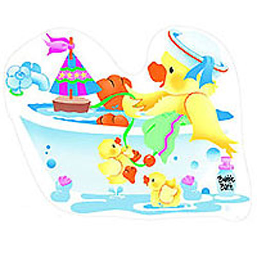 Bears and Ducks - 6 Large Wall Accent Murals - Wall Stickers
