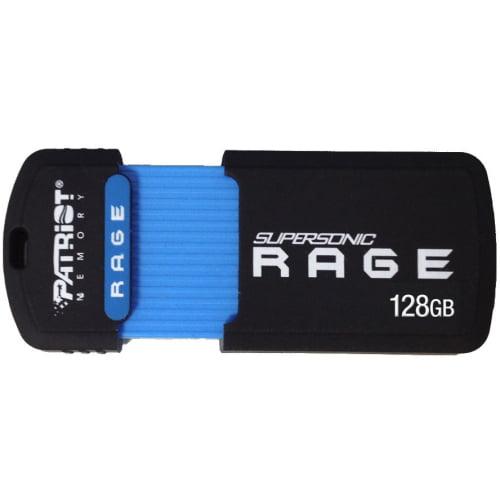 Patriot PEF128GSRUSB Supersonic Rage USB 3.1 Gen. 1 (USB 3.0) Flash Drives