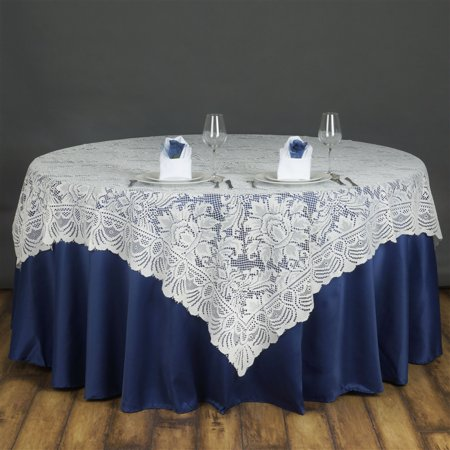 Balsacircle 72 Quot Square Lace Table Overlays Wedding Party