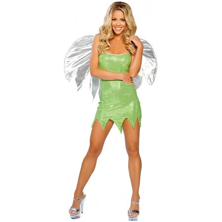 Green Sprite Adult Costume - Medium/Large