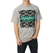 Famous Stars And Straps Men's Camo Box Short Sleeve Graphic T-Shirt