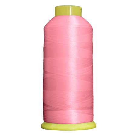 Threadart Polyester Machine Embroidery Thread  Huge 5000M (5500 Yard) Cones 40wt  For Brother Babylock Janome Bernina Embroidery & Sewing Machines  No. 384 - Memphis Belle - 160 Colors Available This high sheen polyester thread for machine embroidery has outstanding tensile strength and color-fastness. Polyester thread offers outstanding performance for today's sophisticated computerized sewing machines. 5000m king size cones (2200yds)  100% Polyester. 40 wt.