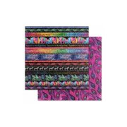 Graphic 45 Kaleidoscope Paper 12x12 Rainbow/Color (25 sheets)