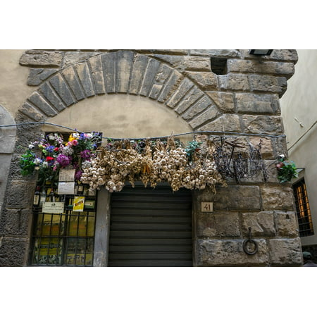 LAMINATED POSTER Ornate Architecture Italy Flowers Decoration Swag Poster Print 24 x 36 - Italy Decorations
