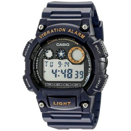 Casio Men's Sport Digital Watch, Blue Resin