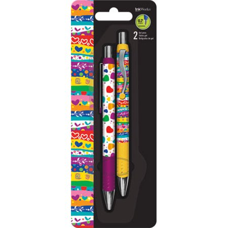 Gel Pen - Sweet Hearts - 2pk New Toys Gifts Stationery iw0060 for $<!---->