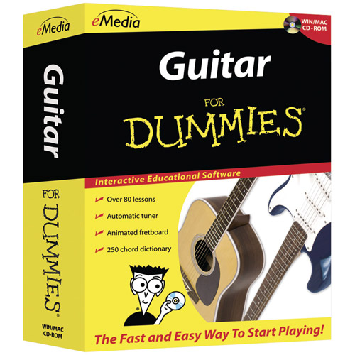 eMedia for Dummies FD12091 Guitar for Dummies (PC and Mac)
