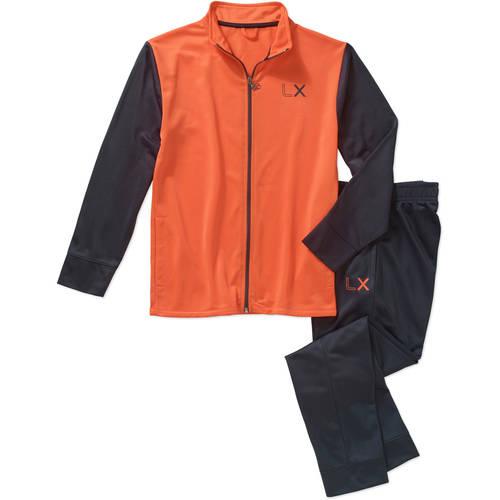 Live Xtreme Boys' 2 Piece Tricot Track Suit Zip Jacket and Joggers Set