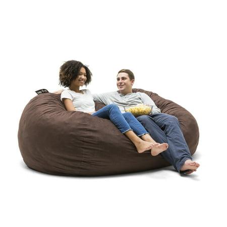 Prime Big Joe Xxl 7 Fuf Bean Bag Chair Multiple Colors Fabrics Machost Co Dining Chair Design Ideas Machostcouk