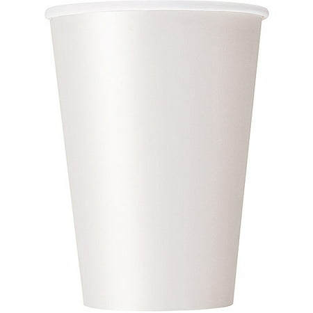 Paper Cups, 12 oz, White, 10ct