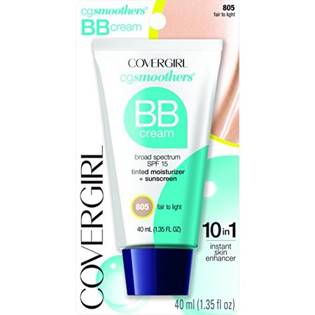 COVERGIRL Smoothers Lightweight BB Cream Fair to Light, 1.35 fl
