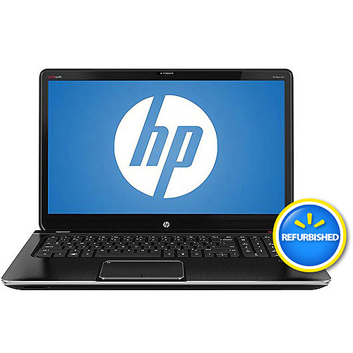"HP Refurbished Midnight Black 17.3"" Pavilion  dv7-7115nr  Laptop PC with AMD Quad-Core A8-4500M Accelerated Processor, Blu-ray Player and Windows 7 Home Premium"
