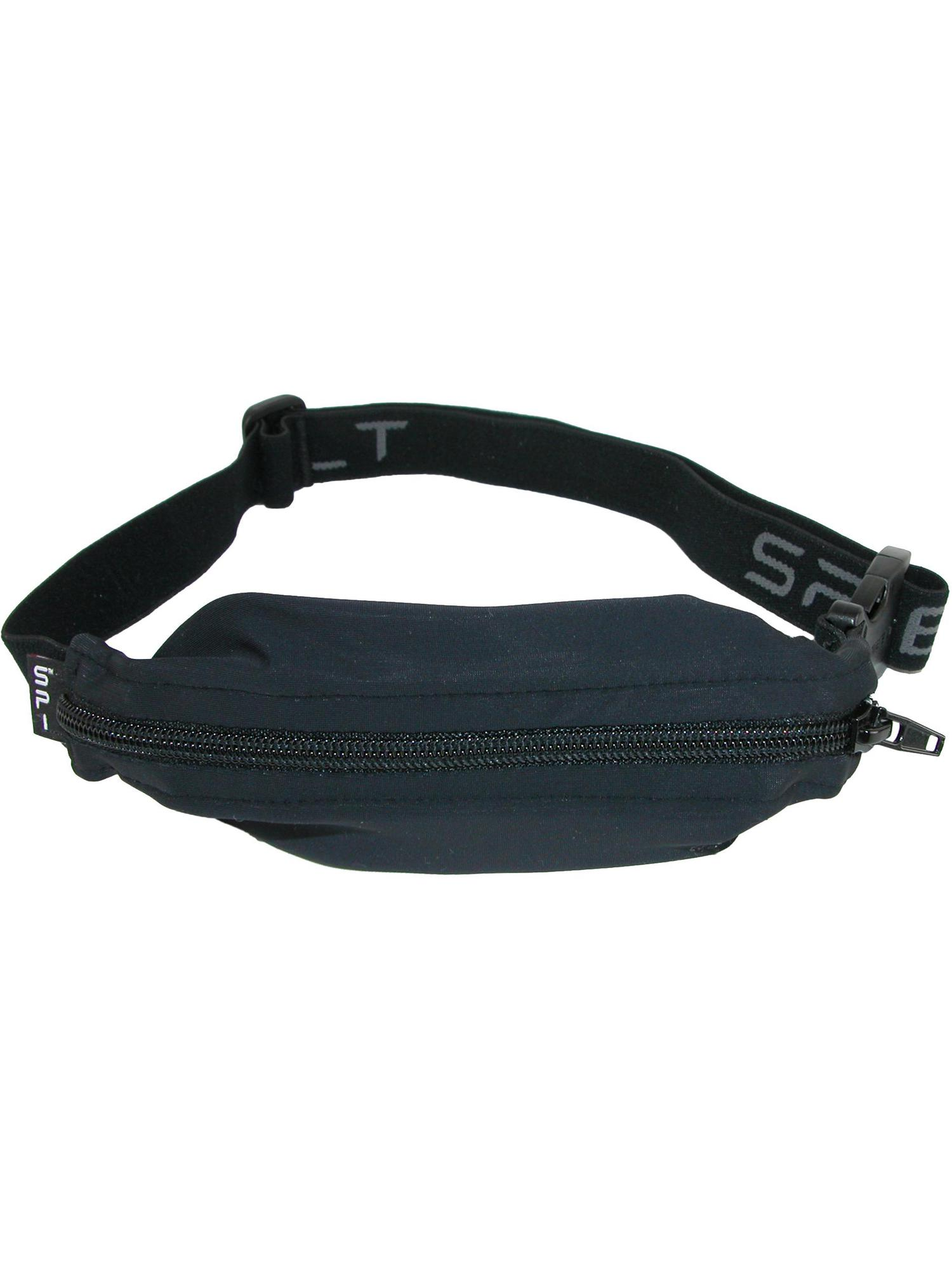 Spibelt Flex Front Buckle Workout Waist Pack Size One Black Original