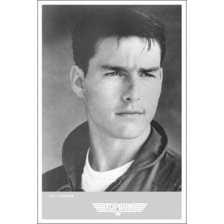 Top Gun Tom Cruise Portrait Poster Poster Print