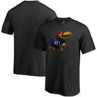 Kansas Jayhawks Fanatics Branded Youth Midnight Mascot T-Shirt - Black