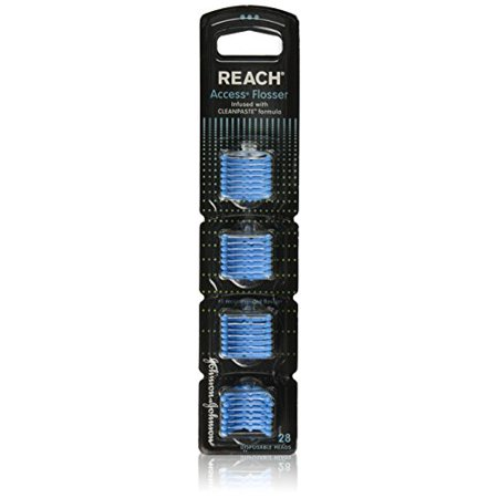 Reach Access Flosser Refill - Infused With Clean Paste Formula 28 Each (6Pack)