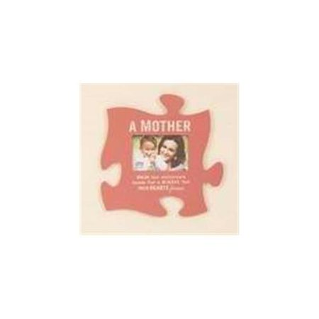 plaque puzzle piece frame a mother pink 12 x 12 walmart com