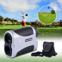 Golf Rangefinder 437yd 6x Magnification 4 Modes Laser Range Angle Finder Monocular Outdoor White/Silver Opt