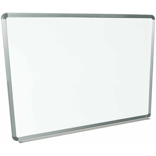 """Luxor Magnetic Wall-Mounted Dry Erase Board, 48"""" x 36\ by Luxor"""