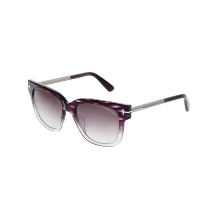 1d881bf72ca3 ... 83t - Purple By Tom Ford For UPC 664689718153 product image for Tom  Ford Tracy FT0436 Women s Rectangle Sunglasses