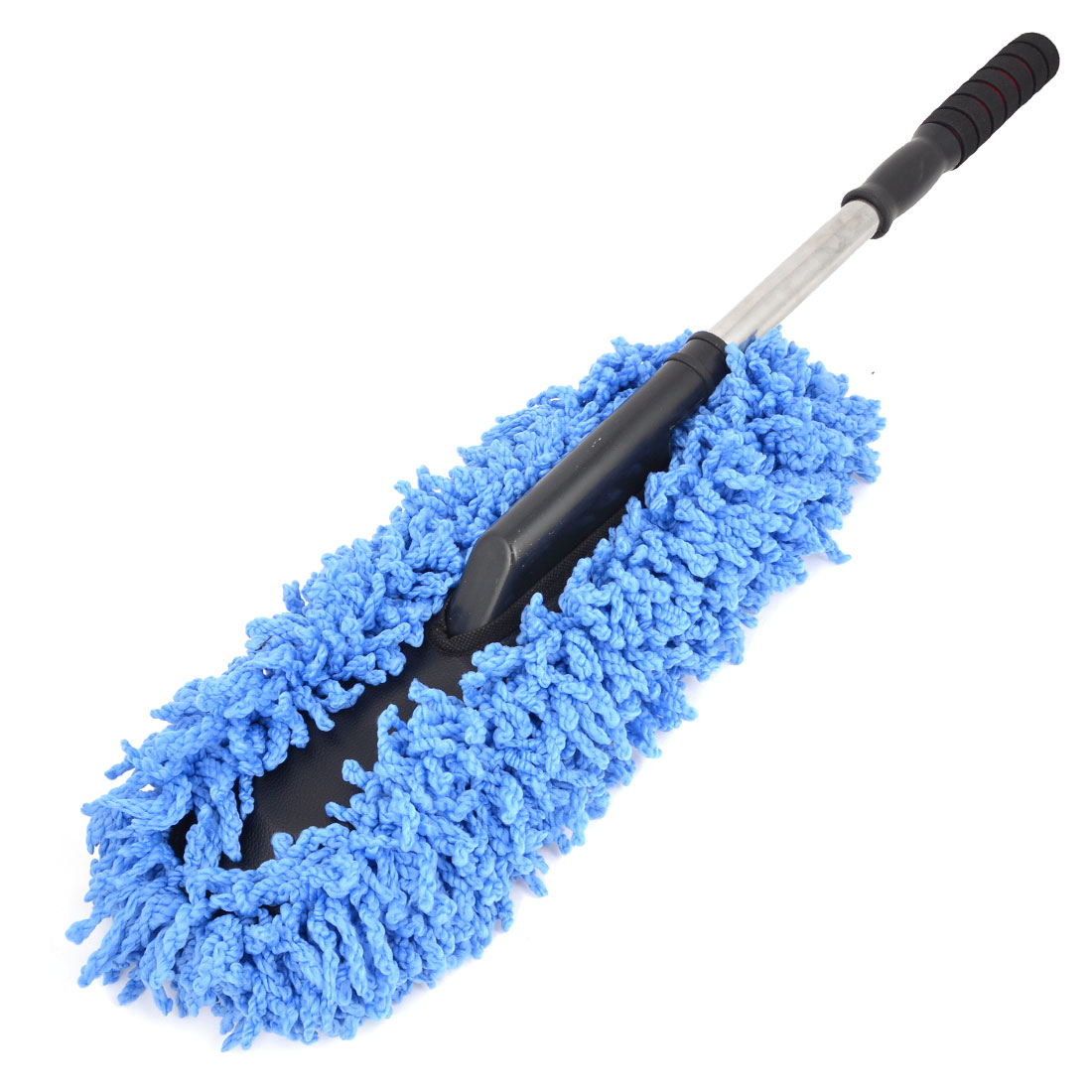 Blue Chenille Removable Car Auto Cleaner Brush Duster Washer Cleaning Tool