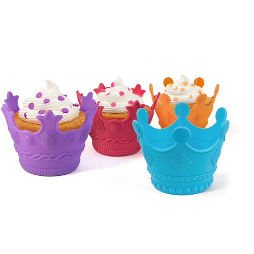 Aristocakes Crown Shaped Cupcake Holders, Set of 4