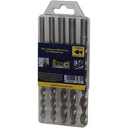 "Pen Drill 5-Piece set in plastic package, Incl. 7mm, 10mm, 25/64"", 27/64"", Letter O"