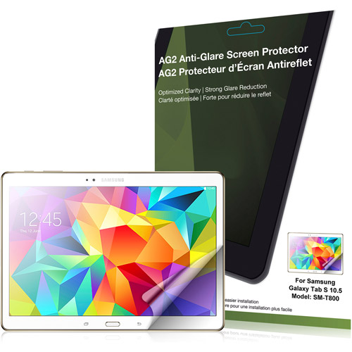 Green Onions AG2 Anti-Glare Screen Cover for Samsung Galaxy Tab S 10.5""