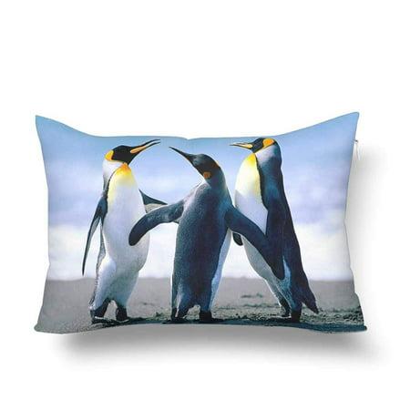 GCKG Lovely Animal Penguins Pillow Cases Pillowcase 20x30 inches - image 4 de 4