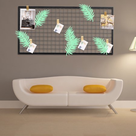 Moaere 9 X4 Diy Paper Flower Palm Leaves Kid Birthday Party Wedding Wall Backdrop Decor