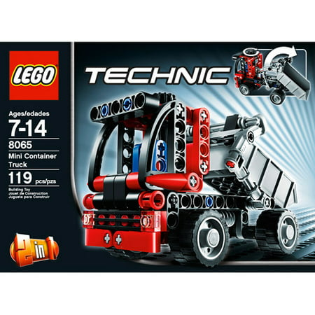 lego technic mini container truck. Black Bedroom Furniture Sets. Home Design Ideas