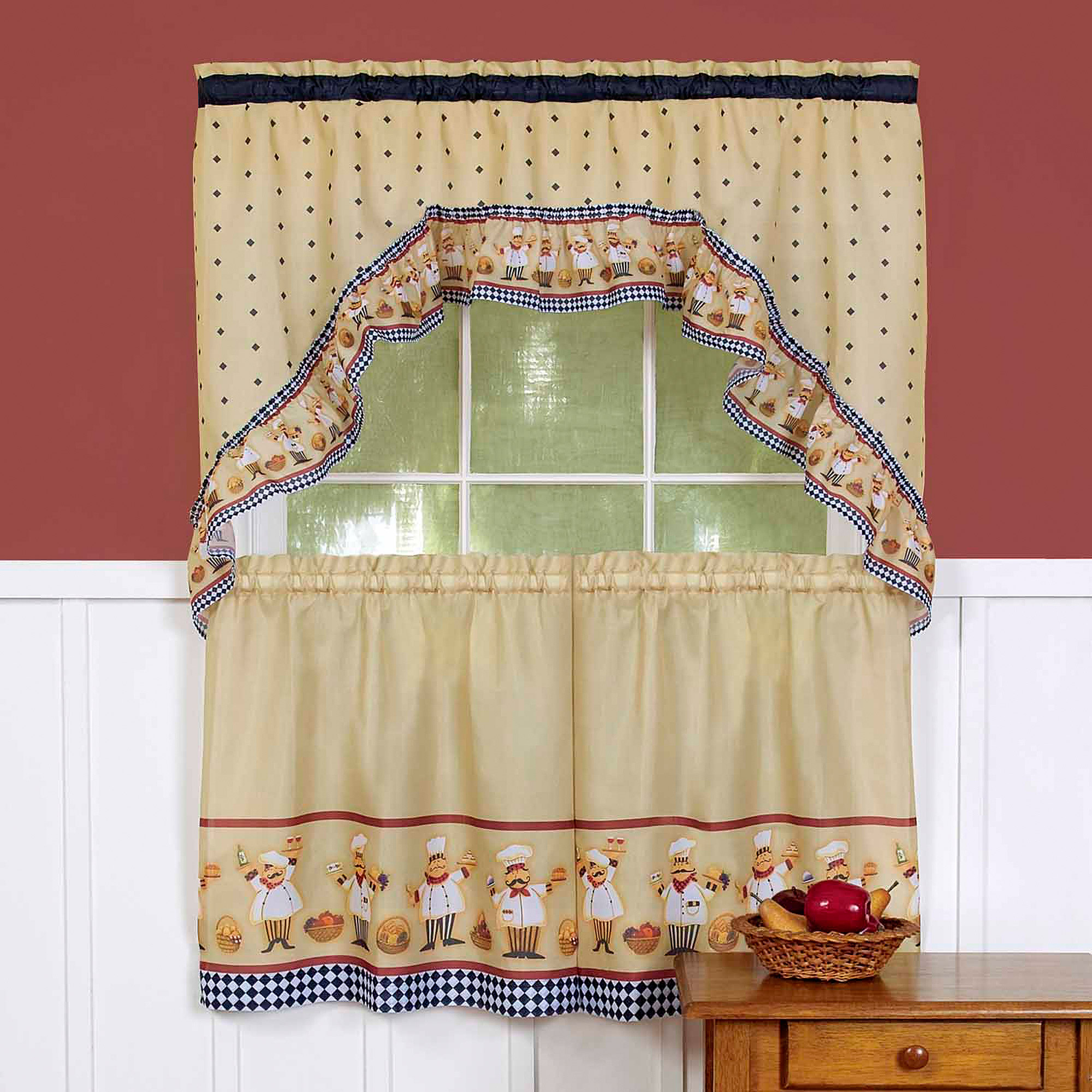 Cucina Kitchen Curtains