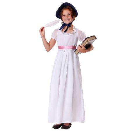 Child Jane Austen Costume - image 2 de 4