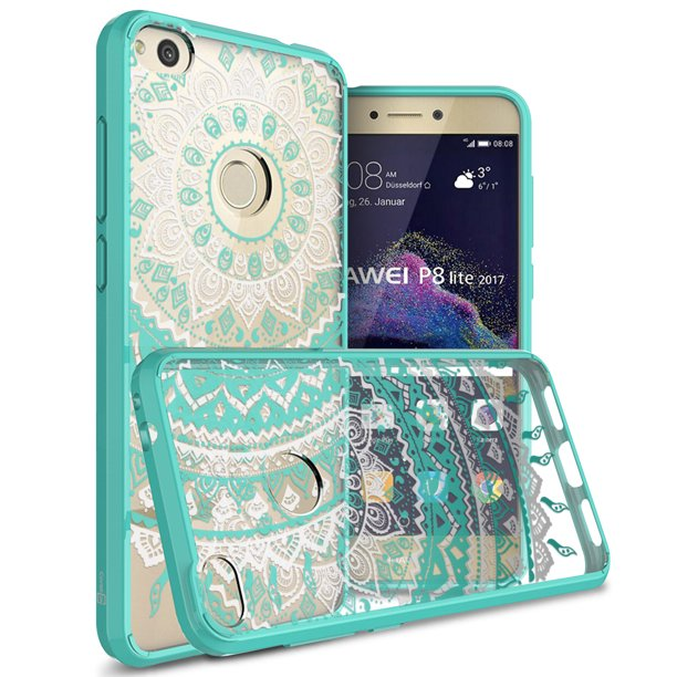 CoverON Huawei P8 Lite (2017 Version) Case, ClearGuard Series Clear Hard Phone Cover
