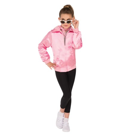 Grease Girls Pink Ladies Jacket