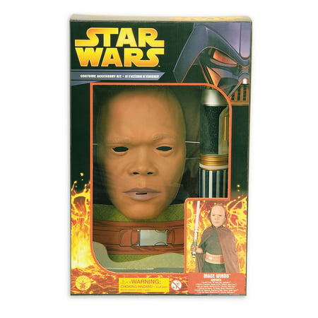 Star Wars Boys Ep3-Mace Windu Halloween Costume Boxset for $<!---->