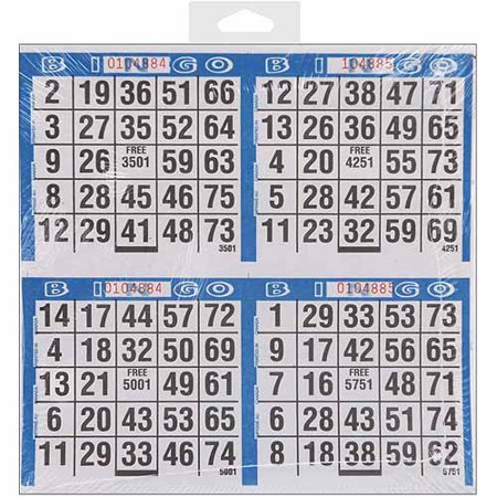 Dab'n Stic Bingo Game Sheets, 8