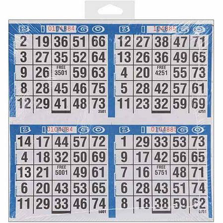 Dab'n Stic Bingo Game Sheets, 8