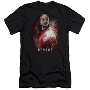 Star Trek Beyond Uhura Poster Mens Premium Slim Fit Shirt