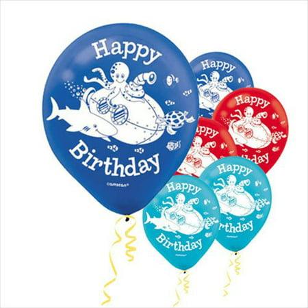 Under The Sea Balloons (Deep Sea Fun Latex Balloons)