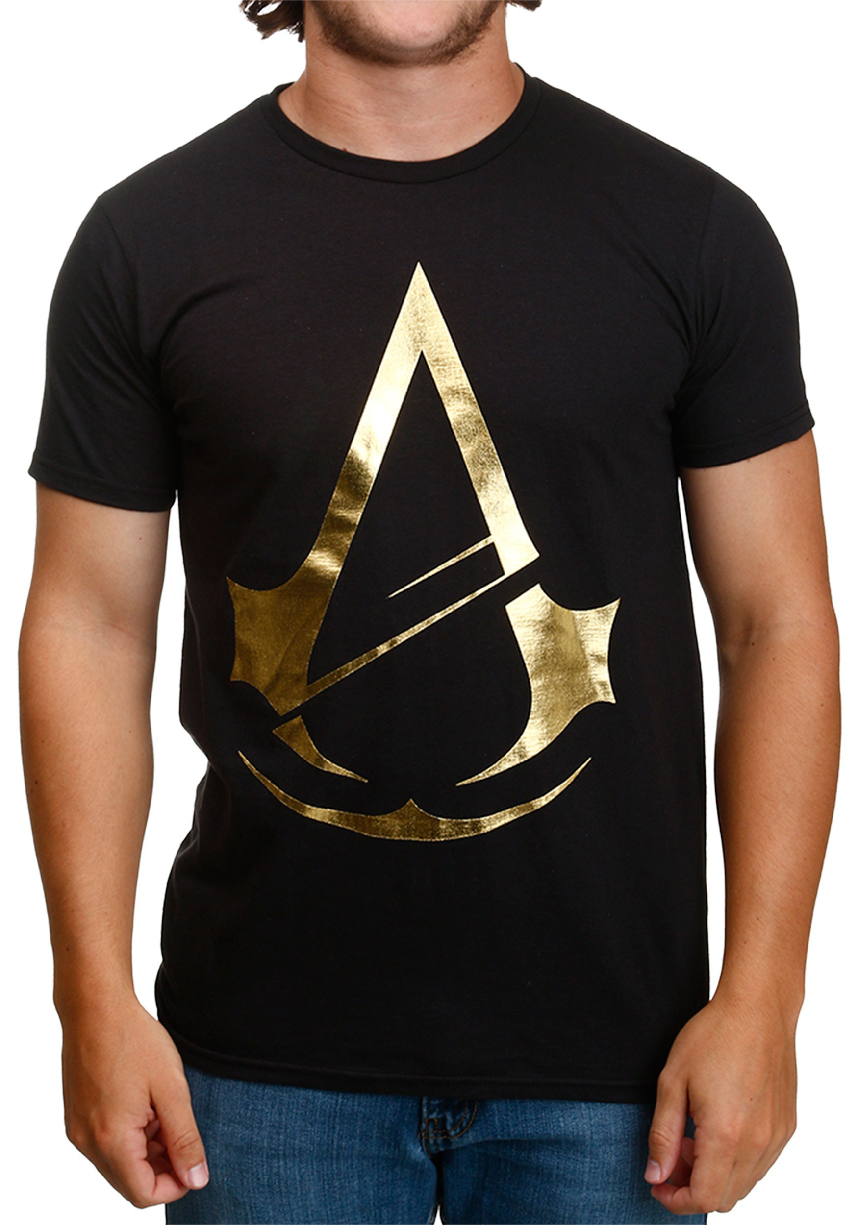 Assassins Creed Gold Foil T Shirt